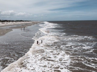 Rip Current Warning on Tybee Beach (Image 1)_8950