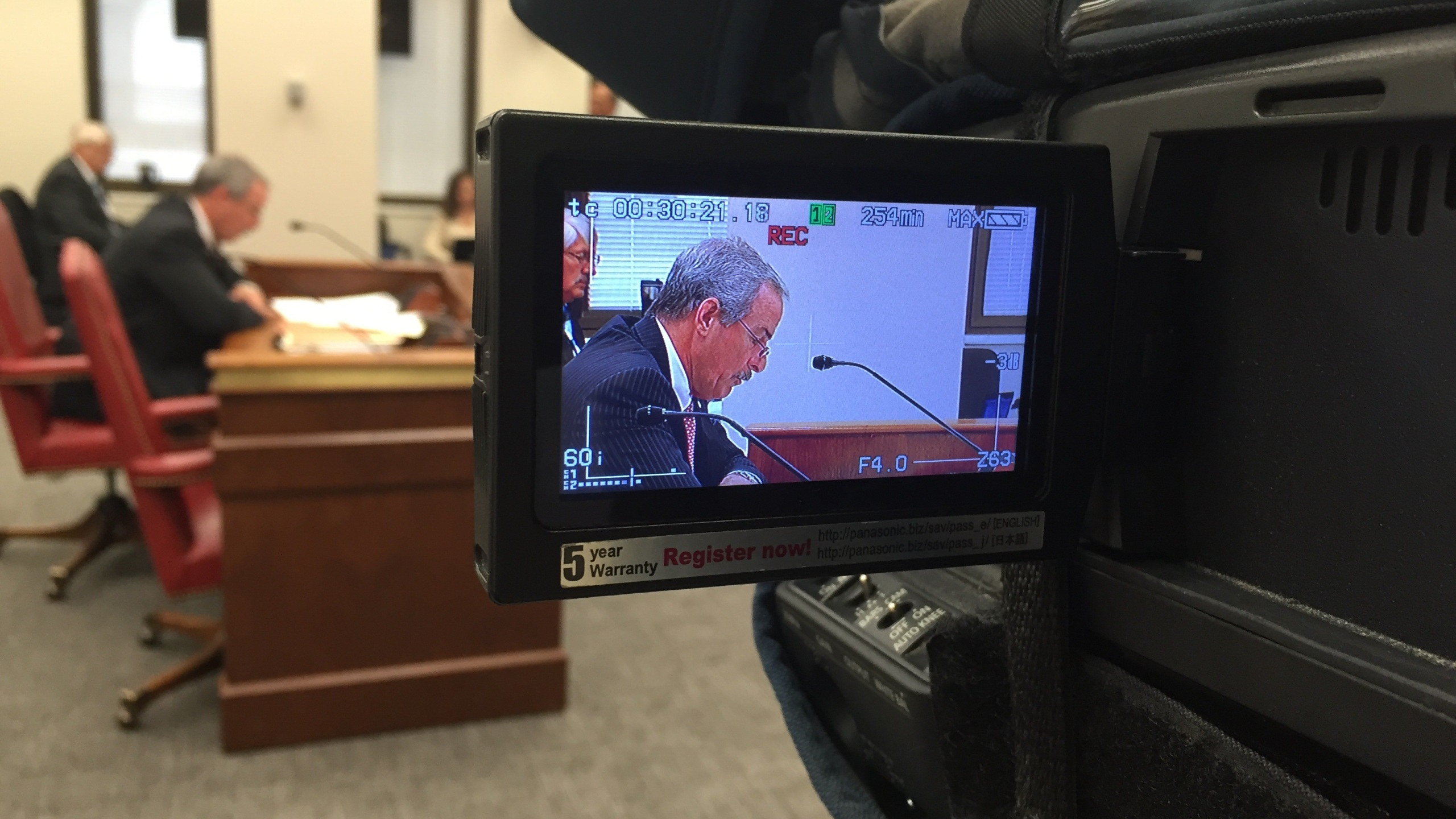 Chief Mark Keel at med marijuana hearing_47828