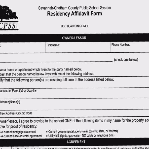 SCCPSS Residency Affidavit Form_244171