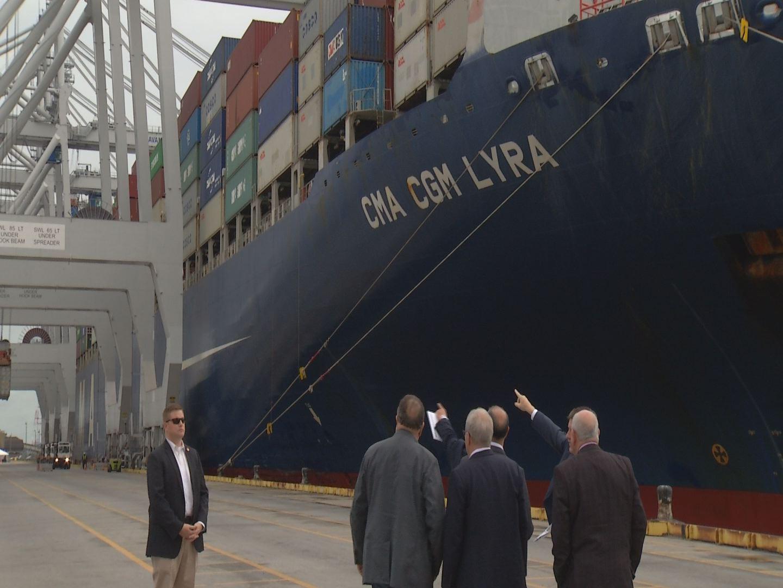 Georgia Ports Authority Visit_258503
