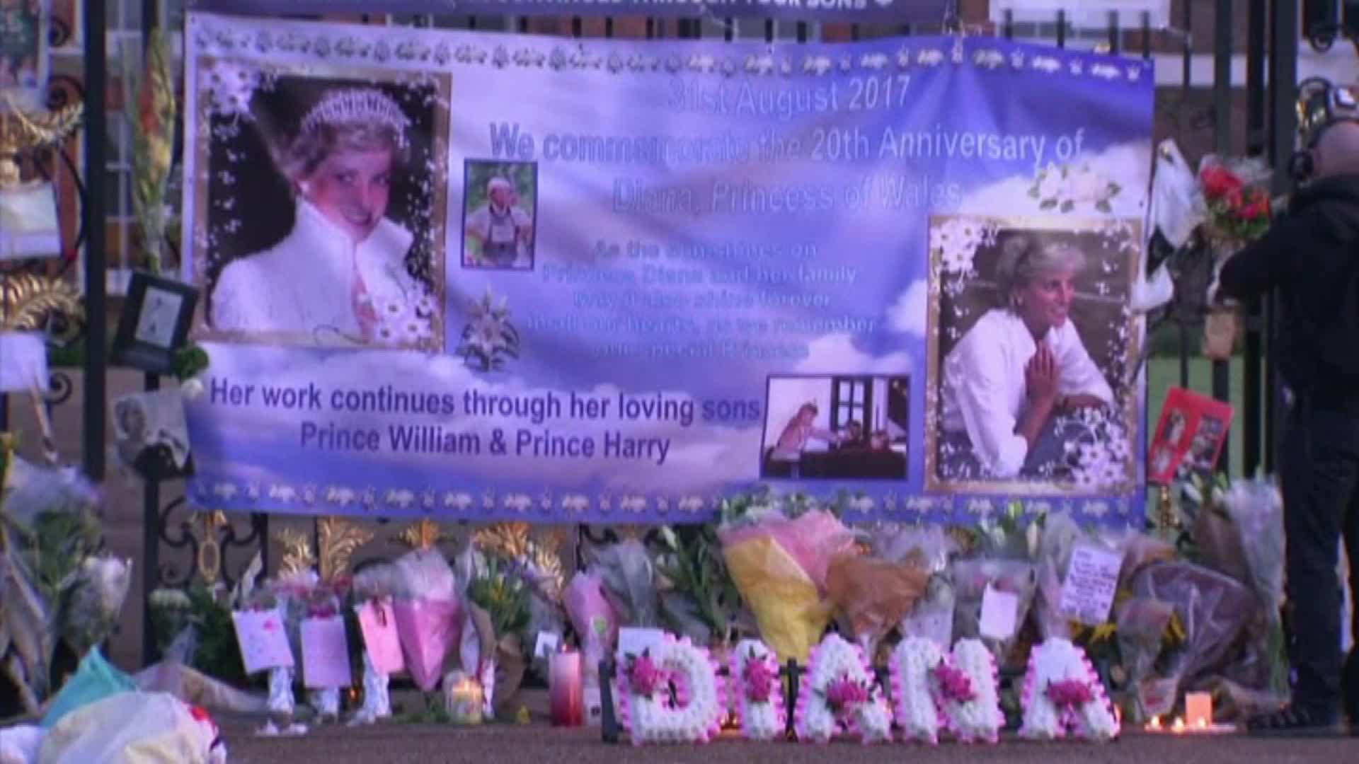Memorial for Princess Diana
