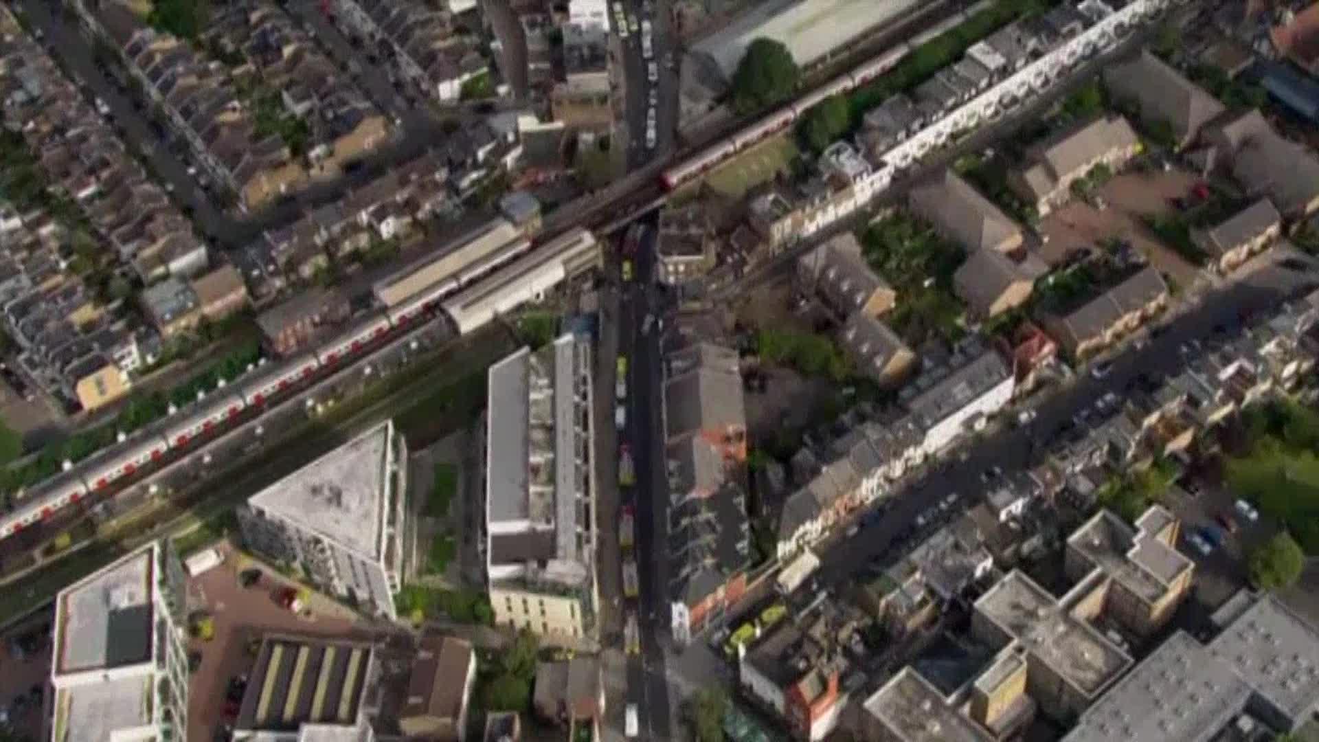 Explosion on London subway