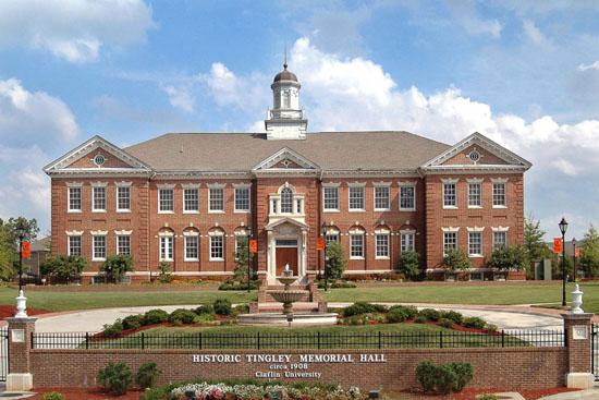 Tingley Memorial Hall (front facade, ca. 2007), Claflin University_327125