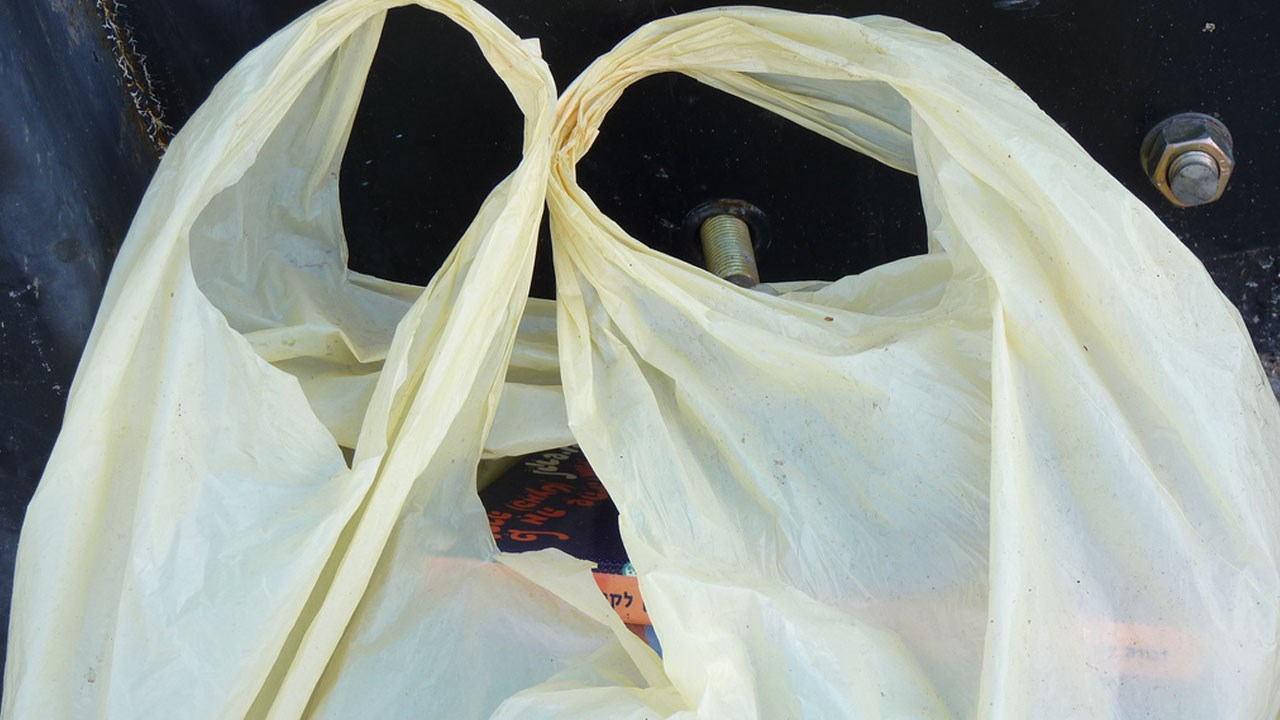 plastic shopping grocery bag_357181