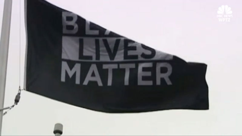 black lives matter flag_360107