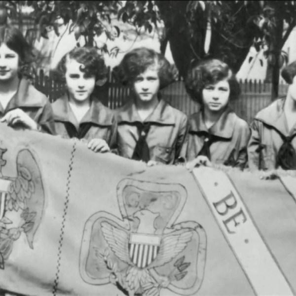Girls Scout rally to change bridge name