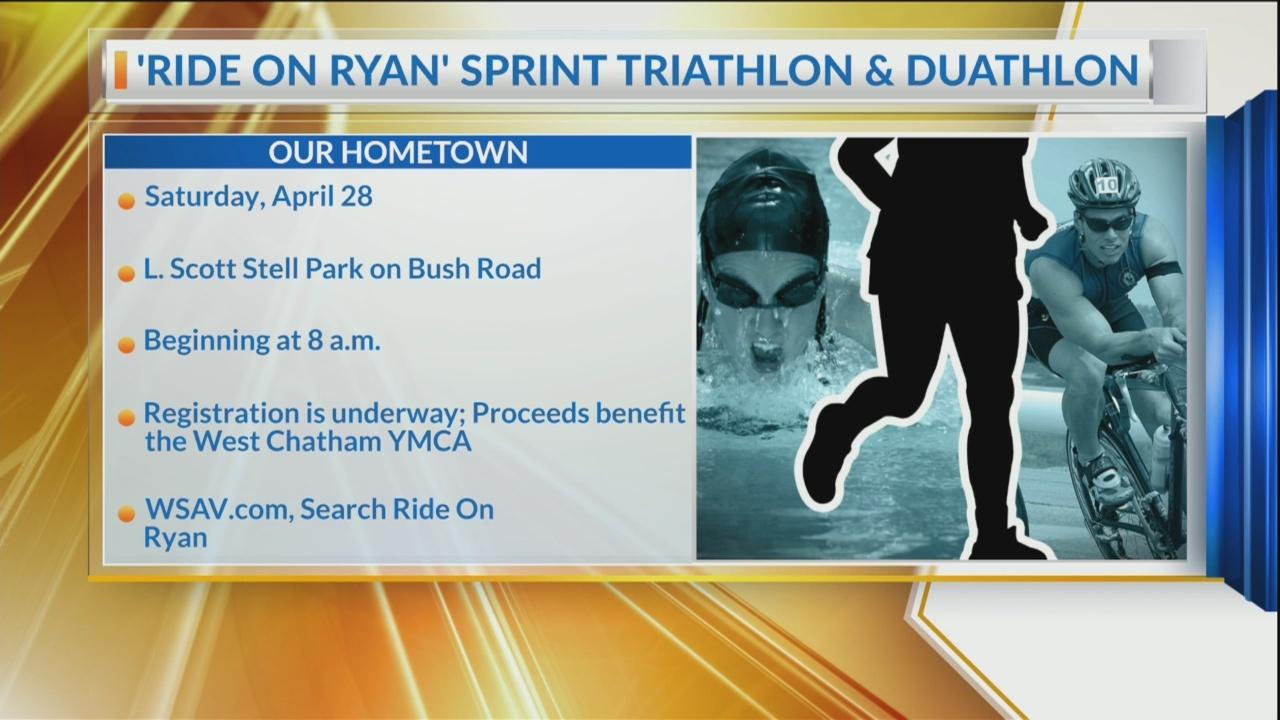 Our Hometown: Registration underway for Ride On Ryan Triathlon