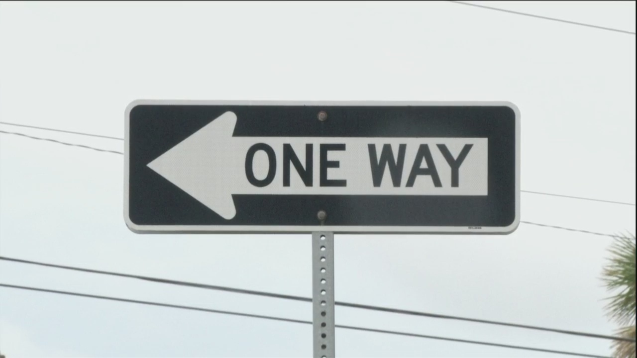 One Way Sign raises concern