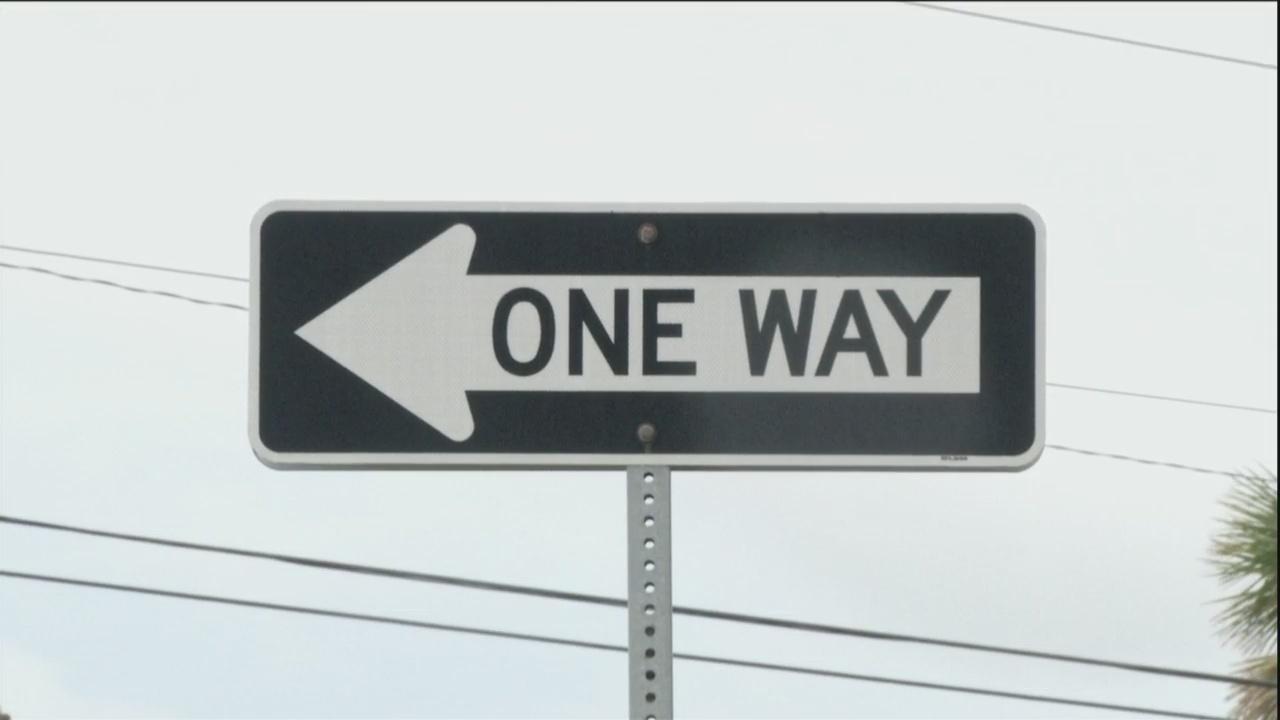 One Way Sign raises concern