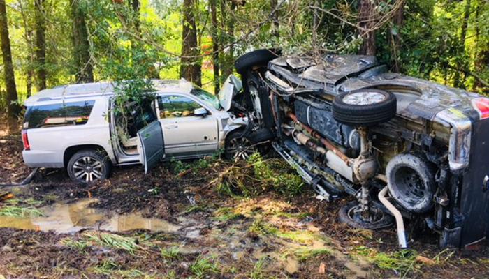 Driver, child injured in crash on I-95