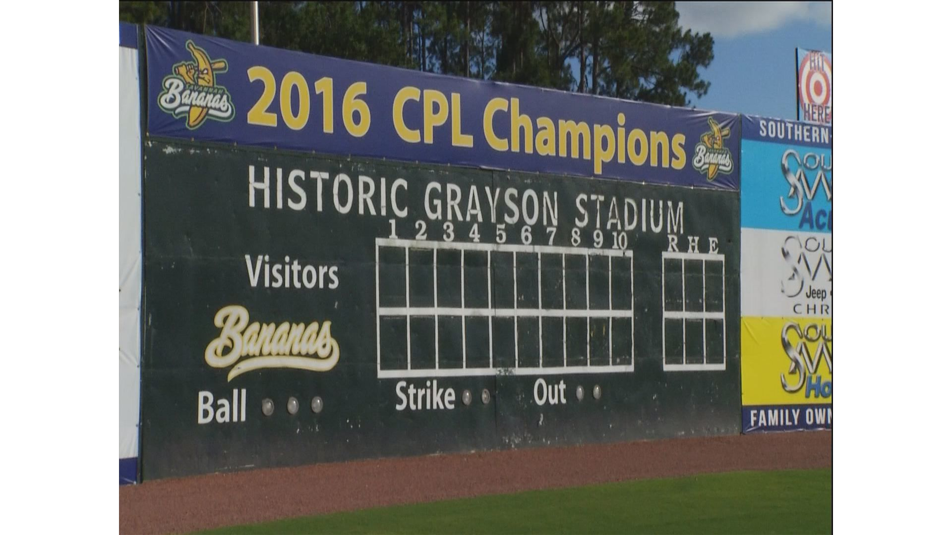 Life Behind The Grayson Stadium Scoreboard