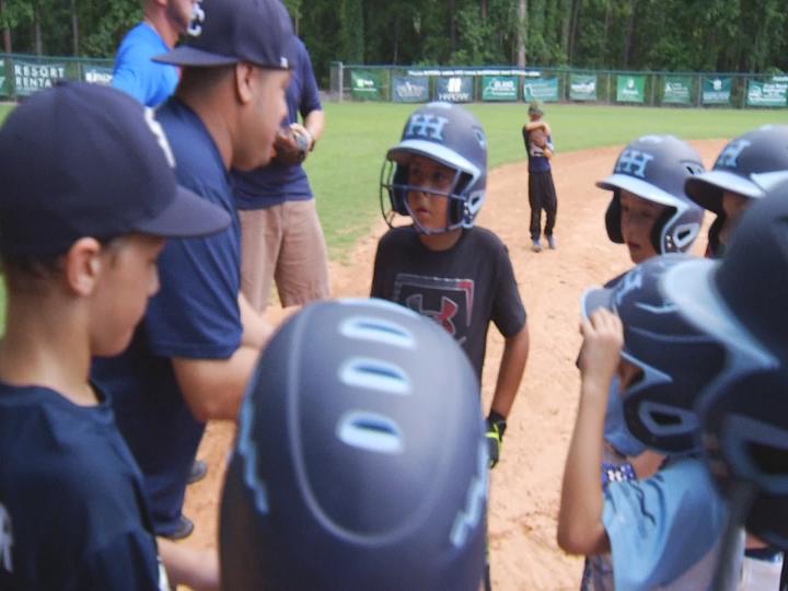 Hilton Head U-8 baseball cruises through Dixie Youth World