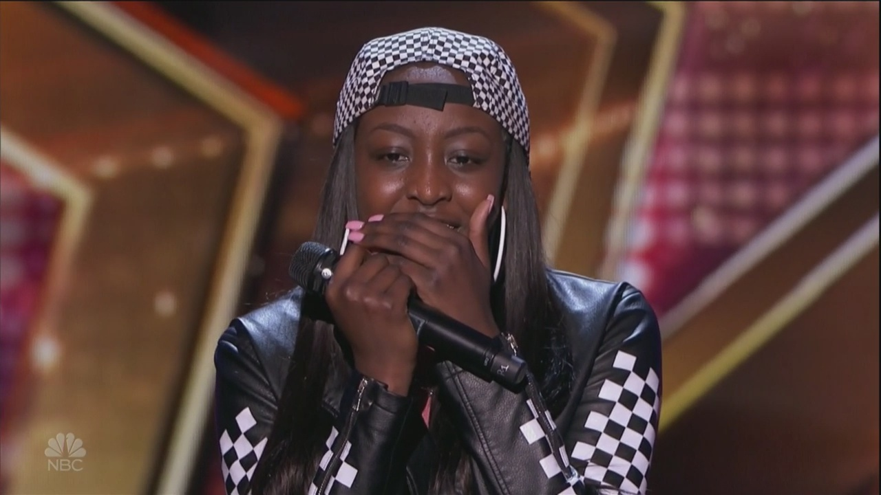 Flau'jae's second appearance on America's Got Talent