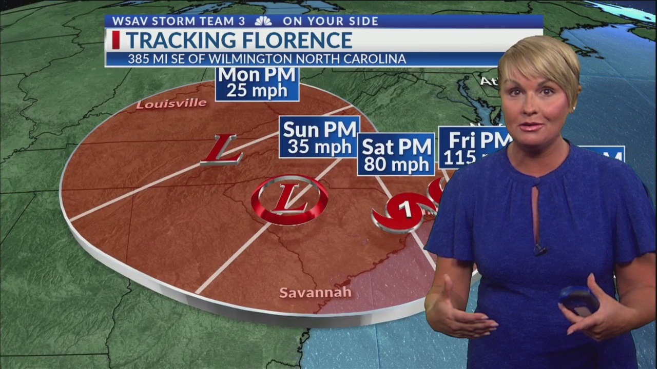 Florence Will Bring Life-Threatening Storm Surge and Rainfall to
