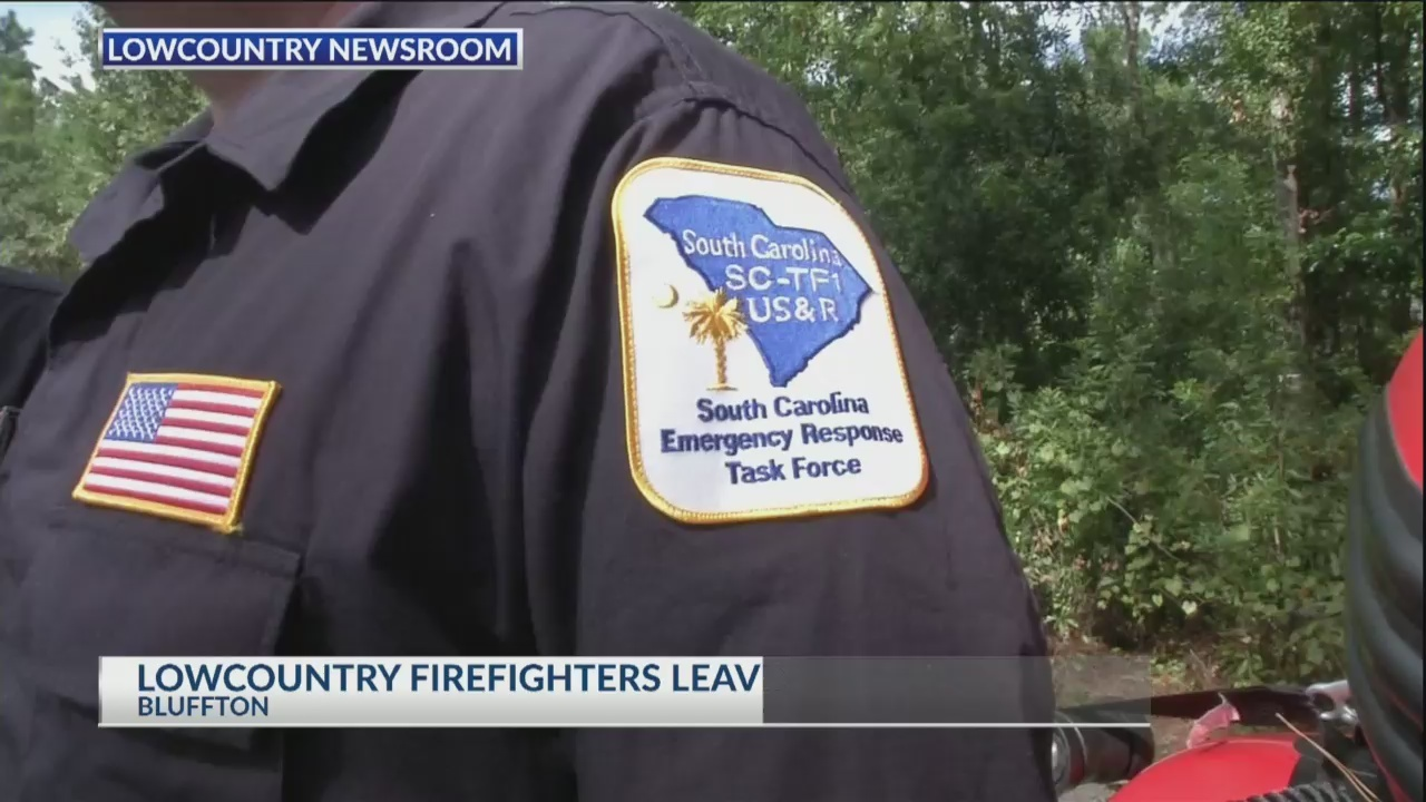 Lowcountry Firefighters headed to hurricane zone to help
