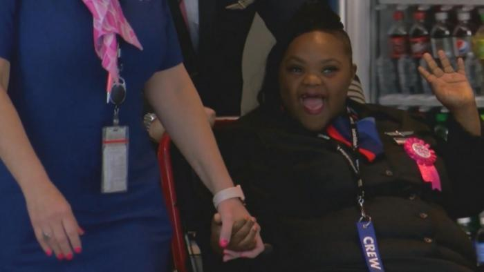 American Airlines helps fulfill teen's dream
