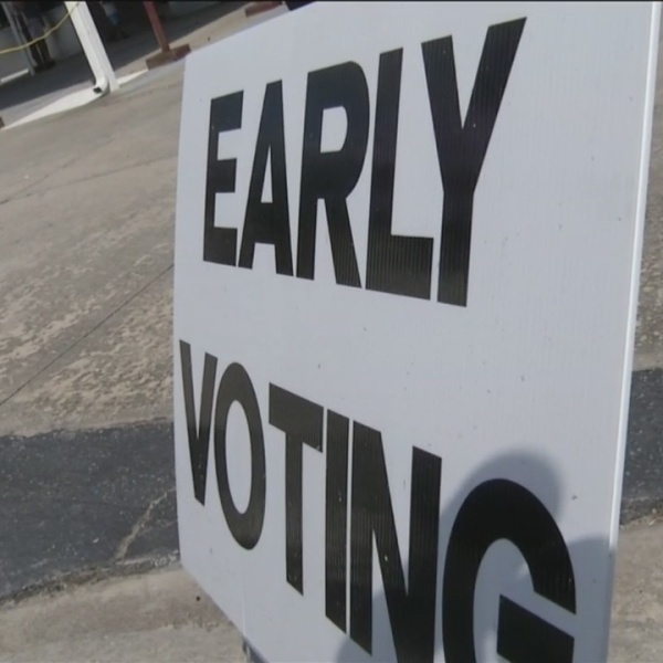 High volumes of early voters