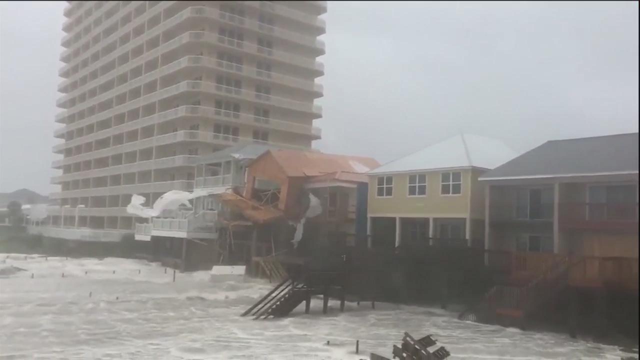 Hurricane Michael slams Florida Panhandle