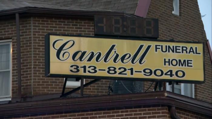Infant bodies found in Detroit funeral home ceiling