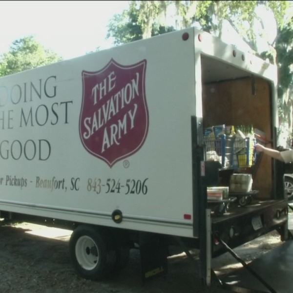 Salvation Army gets grant to help restock shelves