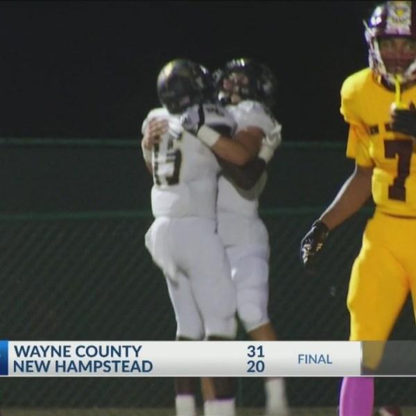 Wayne County, Beach roll to wins Thursday night
