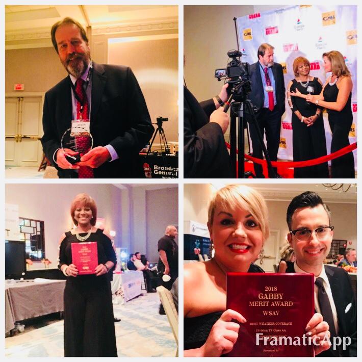 WSAV wins big honors at 2018 Georgia Associated Press Gabby