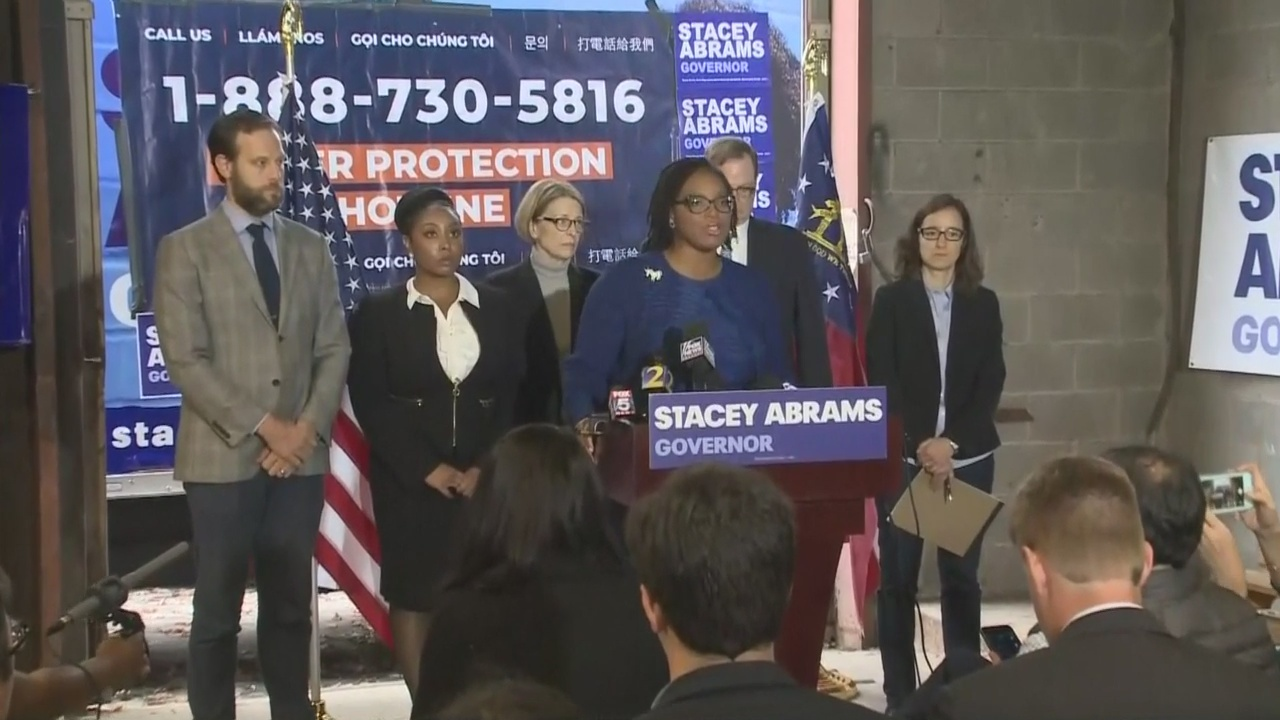 Abrams' legal team not stopping until all votes are counted