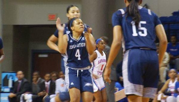 Georgia Southern women's basketball downs Savannah State, snapping three-game losing skid