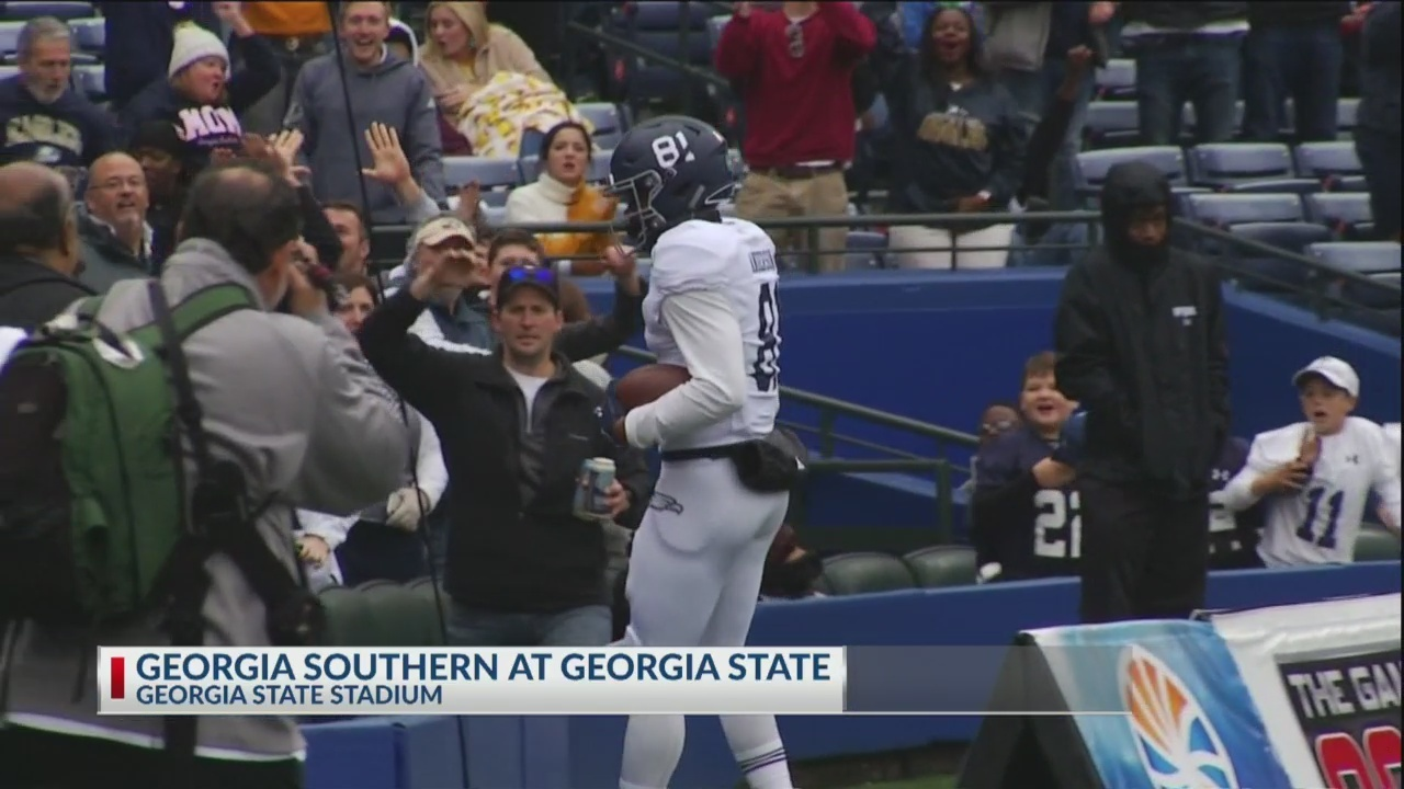 #SouthernNotState: Eagles steamroll Georgia State 35-14