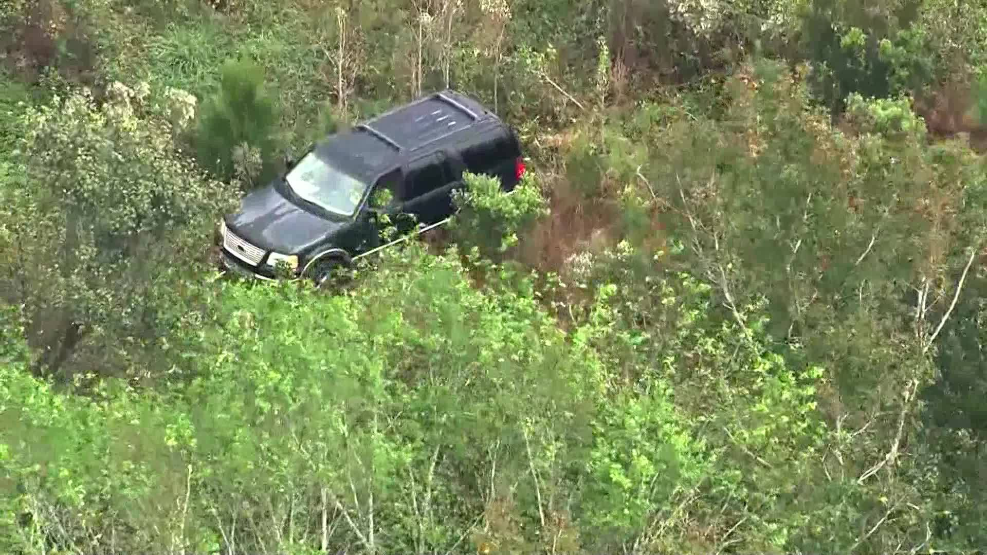 VIDEO: Stolen vehicle connected to NC abduction found