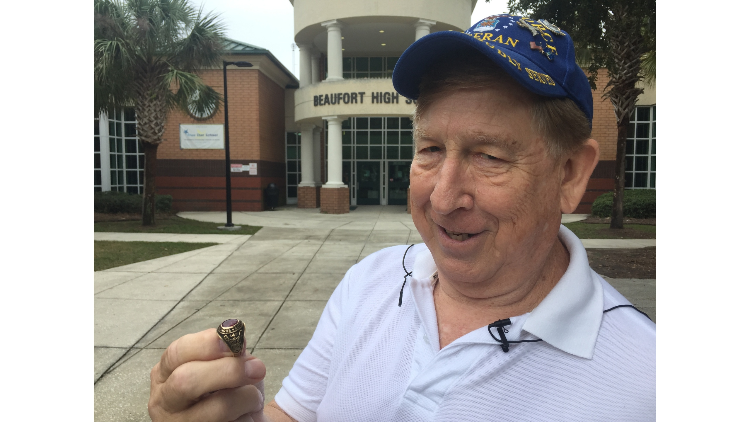 Vietnam Veteran reunited with high school ring 50 years later