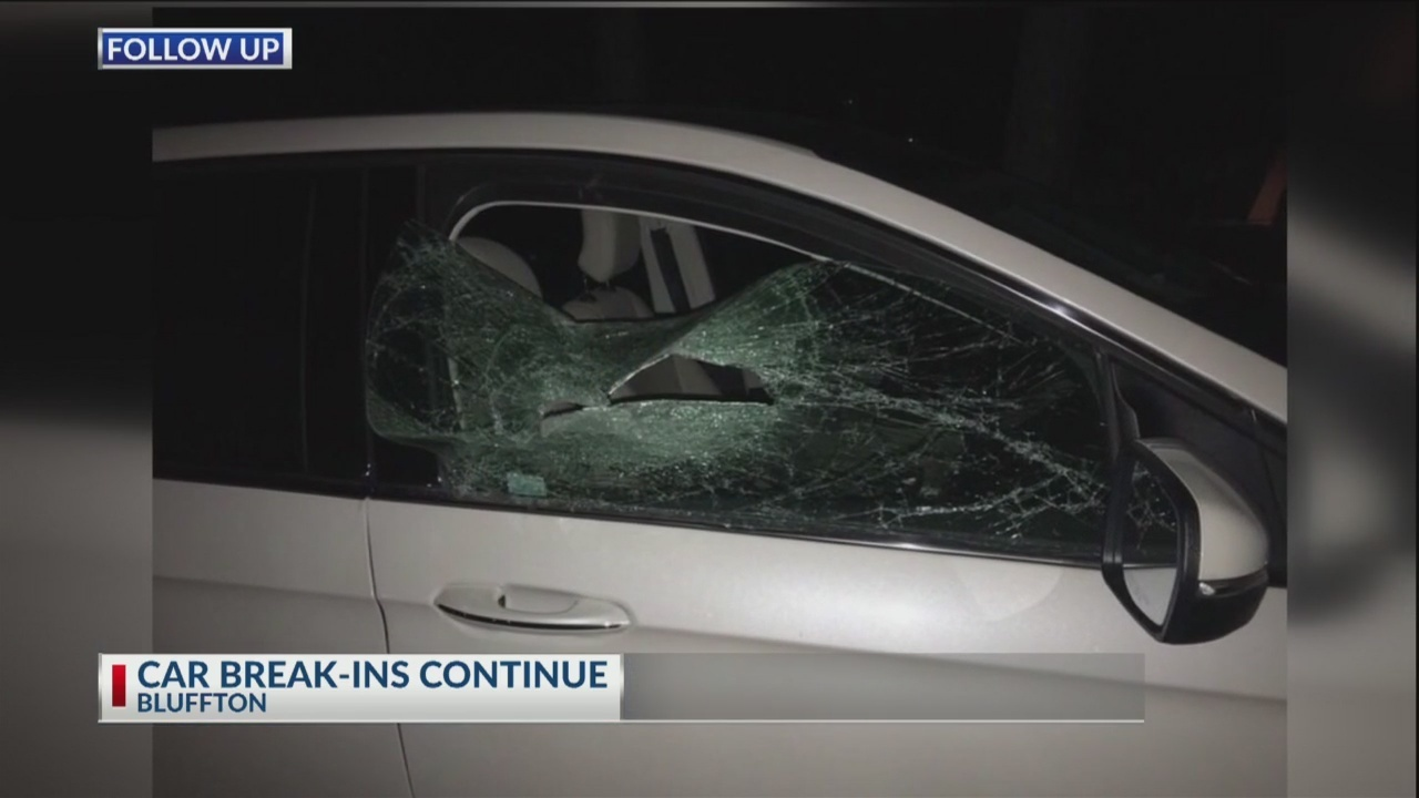 Car break-ins continue