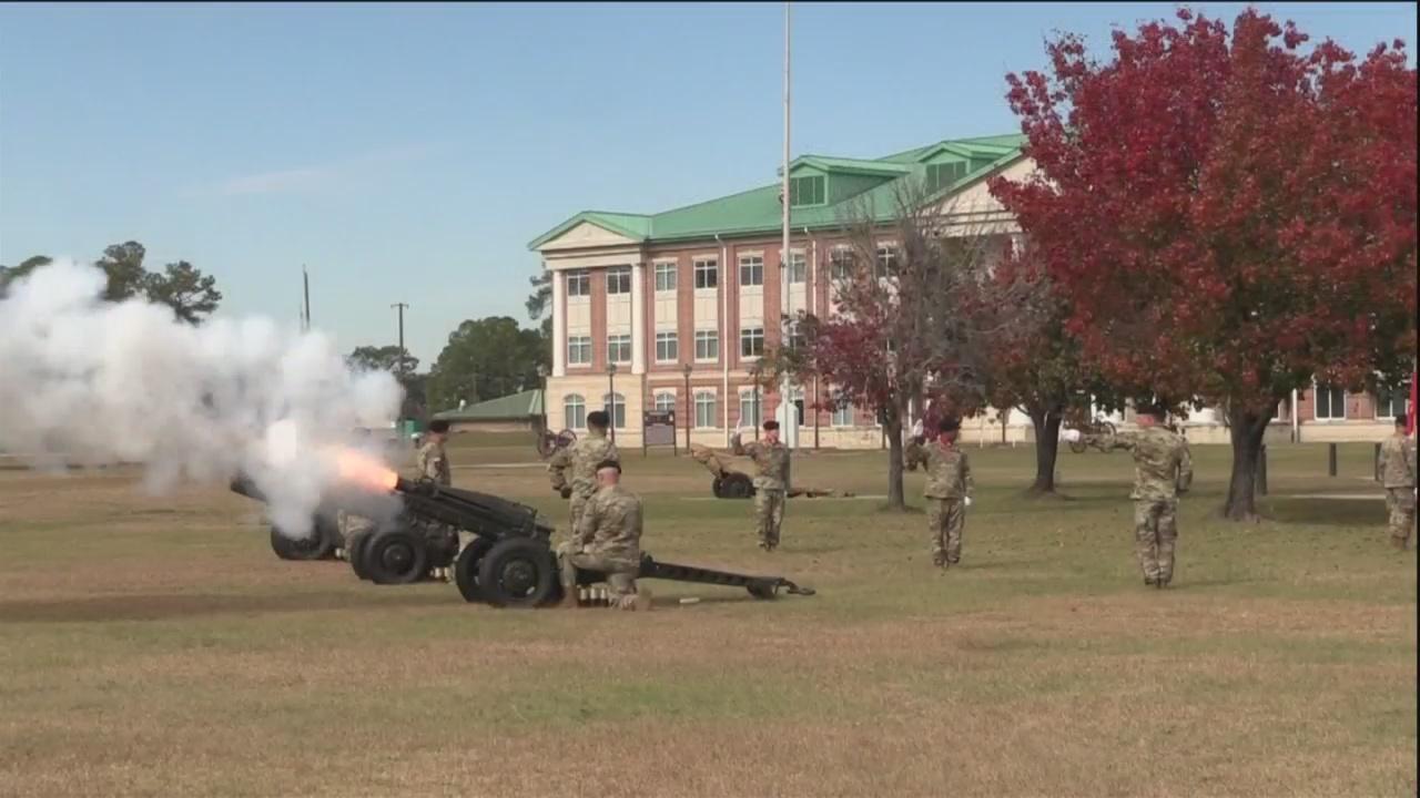 Fort Stewart honors George H.W. Bush