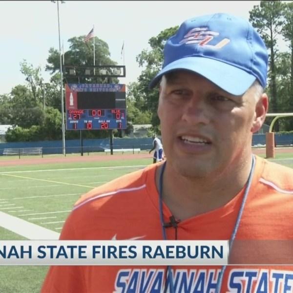Savannah State fires Raeburn