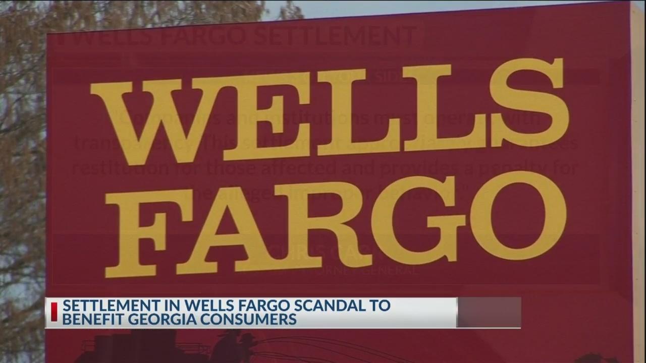 Wells Fargo scandal settlement to benefit GA consumers