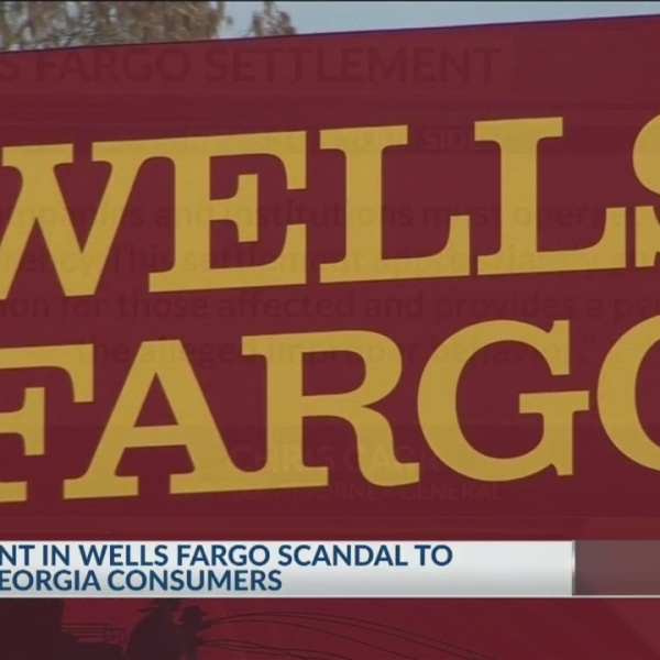 Wells Fargo scandal settlement to benefit GA consumers