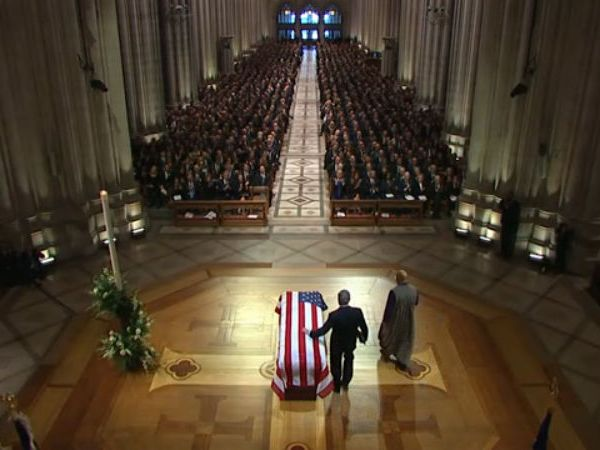 Service remembering George H.W. Bush