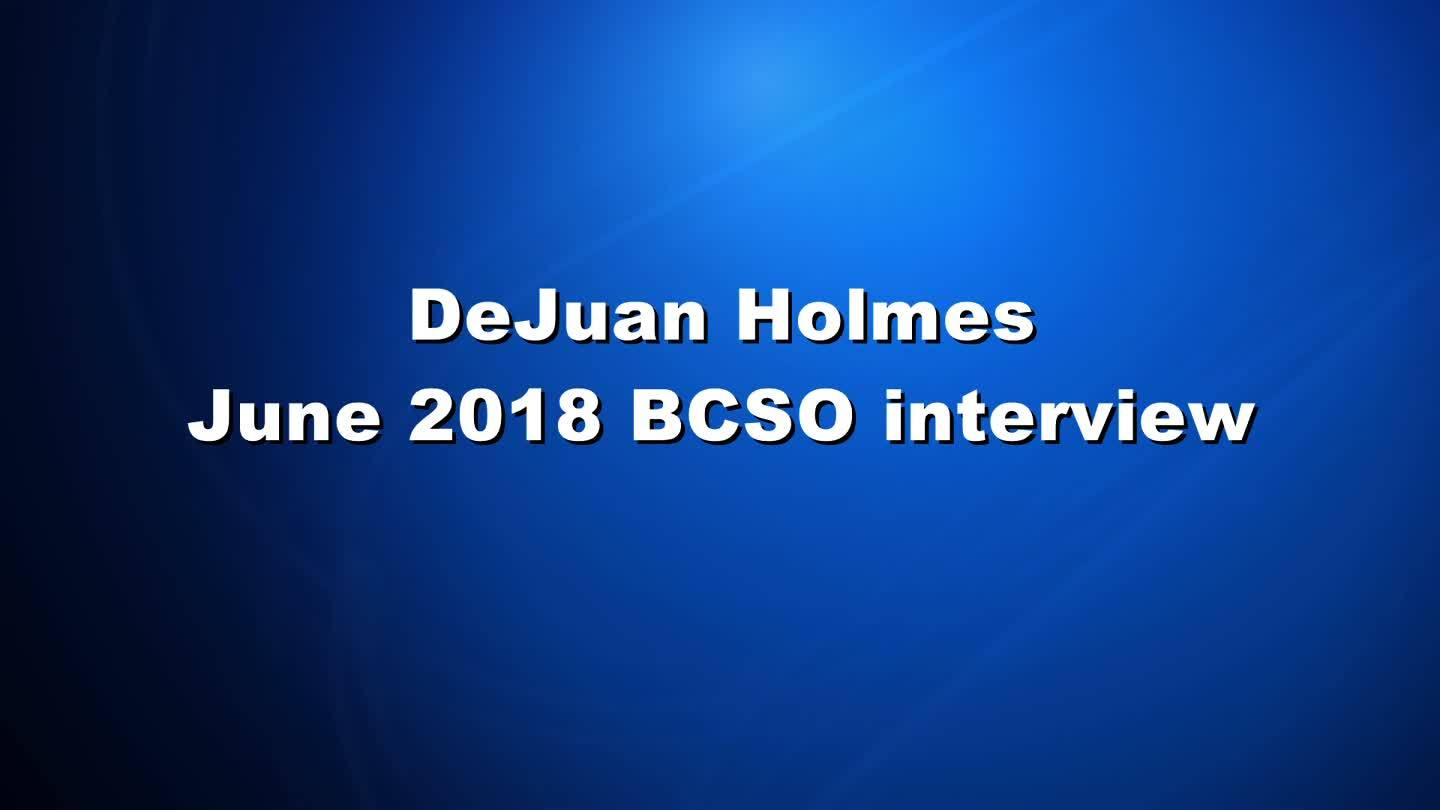 Full Interview: DeJuan Holmes with BSCO