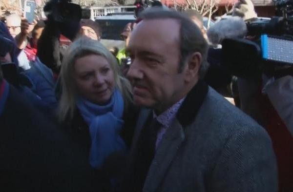'Not guilty' plea in Kevin Spacey case