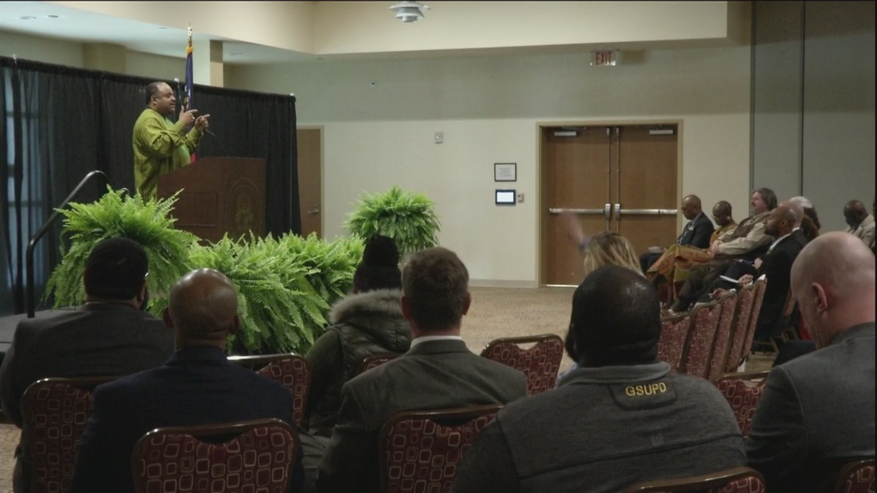 Noted journalist, author Roland Martin speaks at Georgia Southern