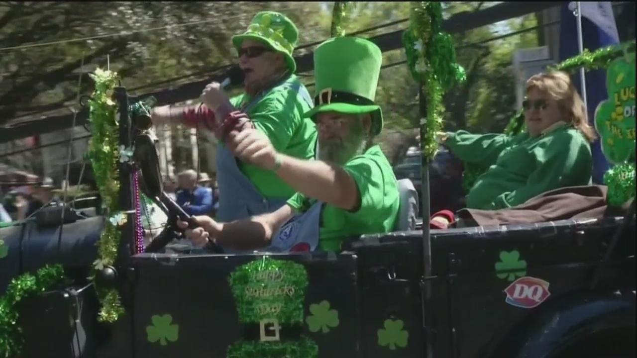 St. Patrick's Day restrictions
