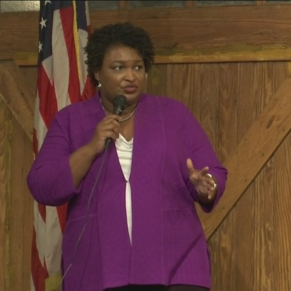 Abrams 'Thank You' Speech Savannah