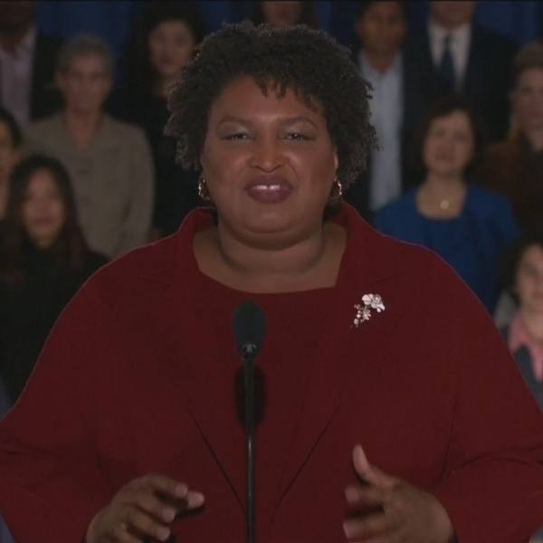 Abrams makes history delivering response to the SOTU Address