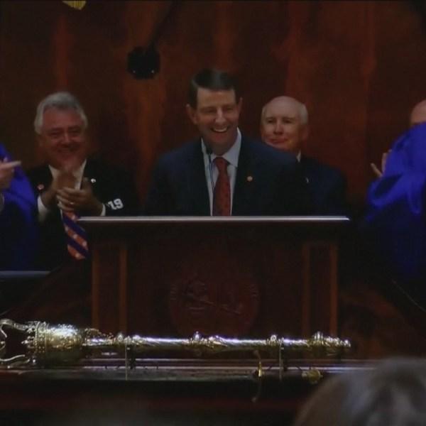 Clemson head football coach addresses General Assembly
