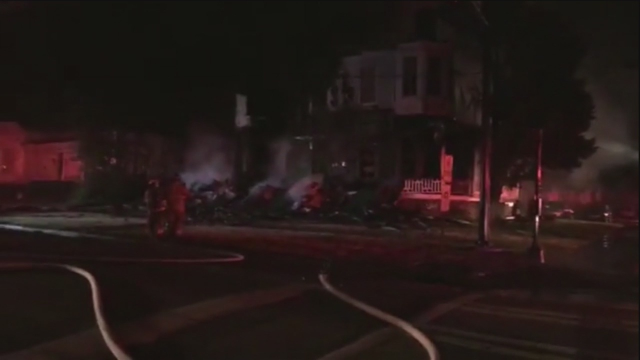 Fraternity house total loss after fire