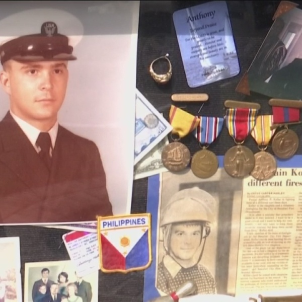 Goodwill employee returns military shadowbox after veteran accidentally donates it