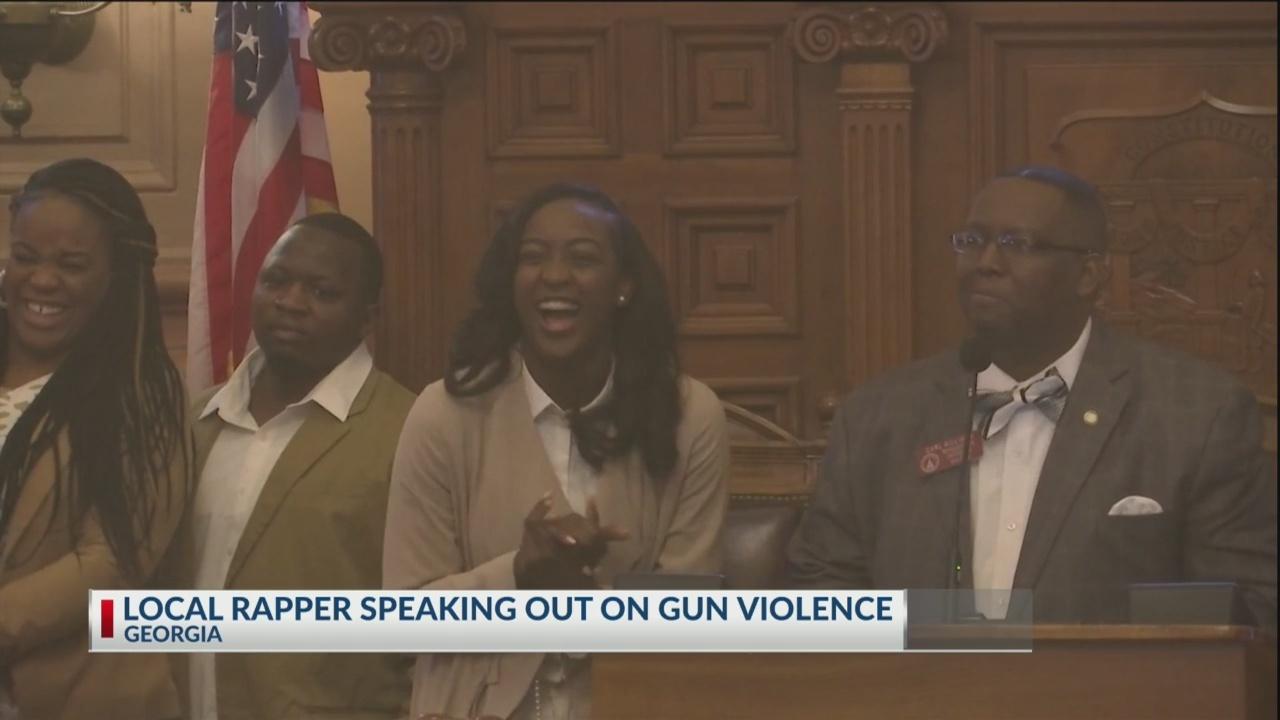 Lawmakers honor Savannah teen rapper
