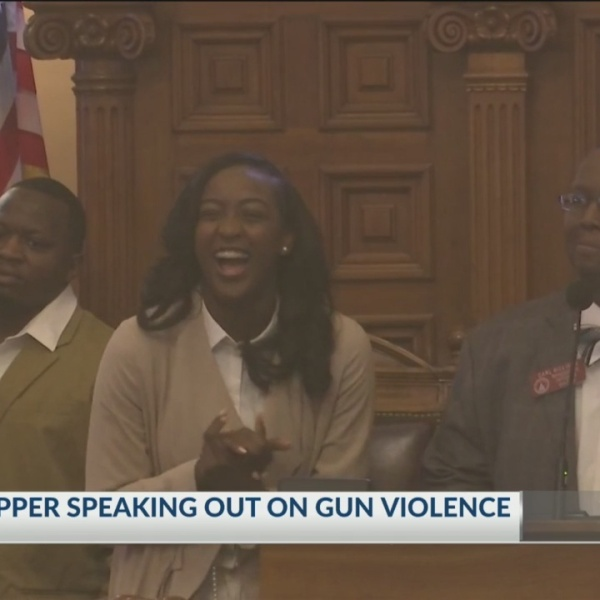 Lawmakers honor Savannah teen rapper