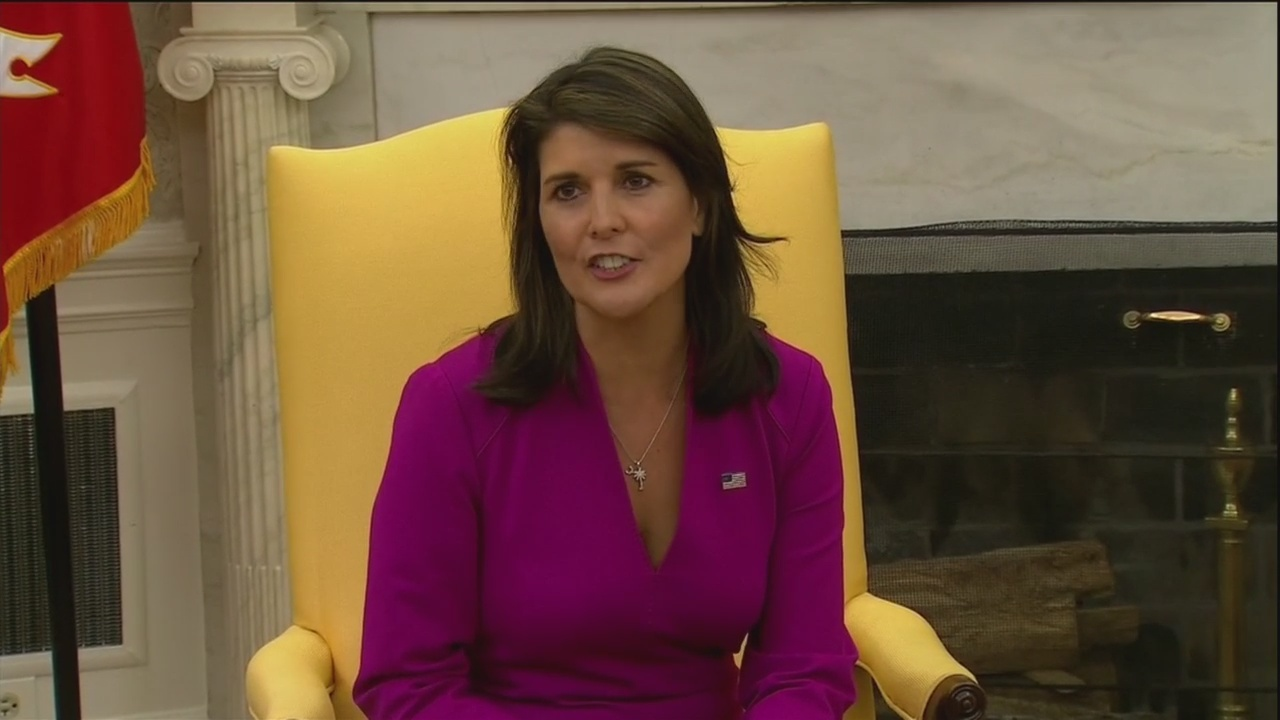 Nikki Haley tapped for Boeing board
