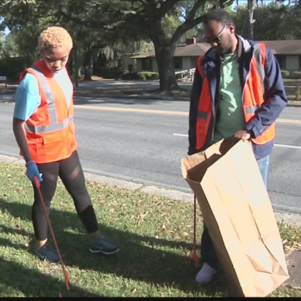 Citywide litter cleanup